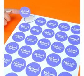 1 inch Round stickers